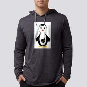 lady bug penguin Long Sleeve T-Shirt